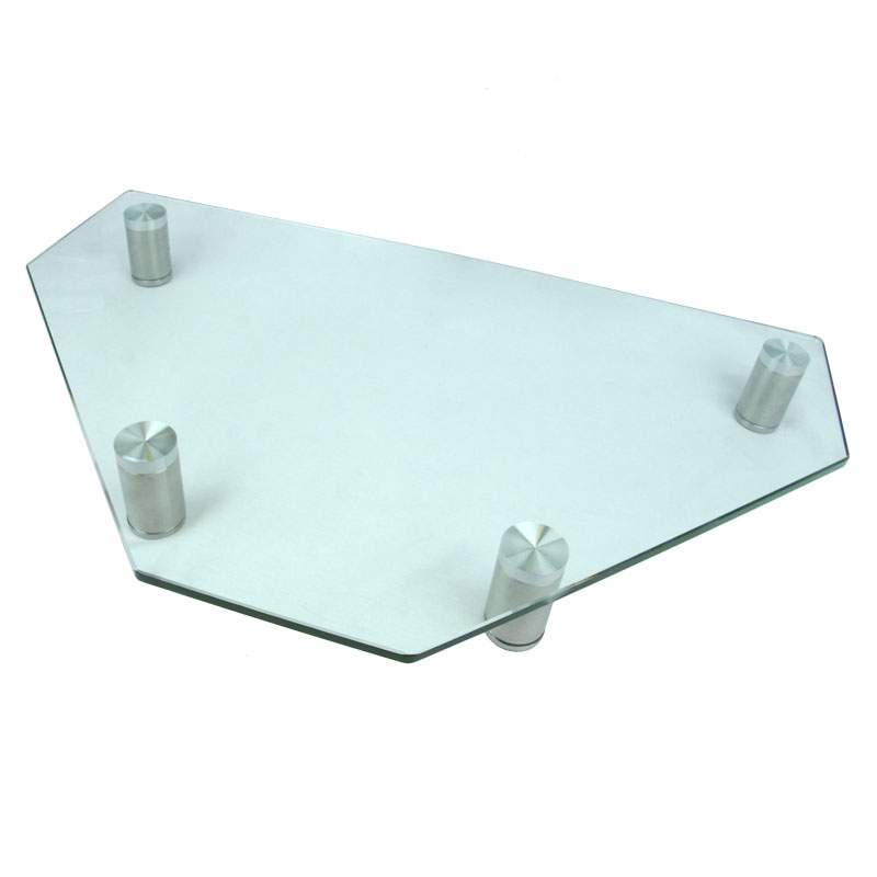 Corner Tv Stand Monitor For, Glass Monitor Stand